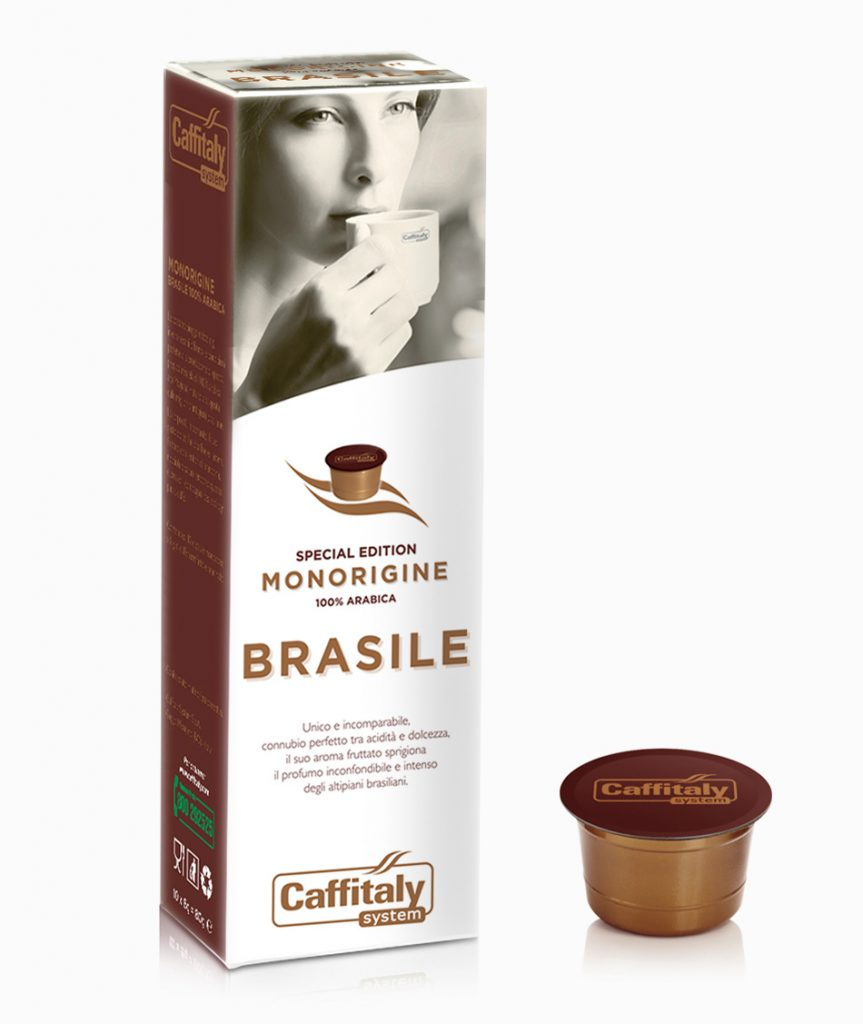 Brasile Caffitaly Capsules